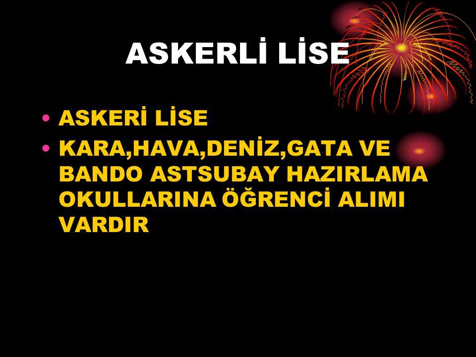 ASKERLİ LİSE ASKERİ LİSE