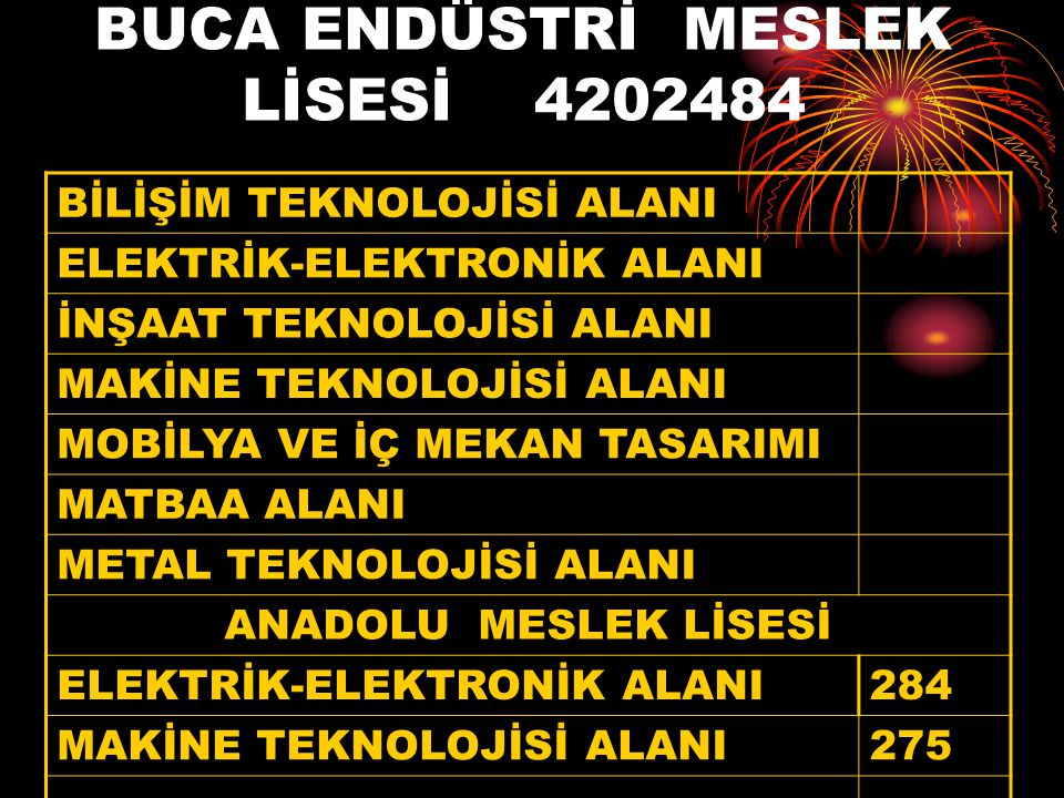BUCA ENDÜSTRİ MESLEK LİSESİ 4202484