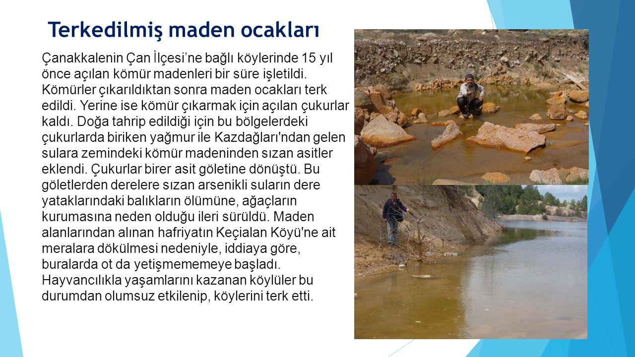 Terkedilmiş maden ocakları