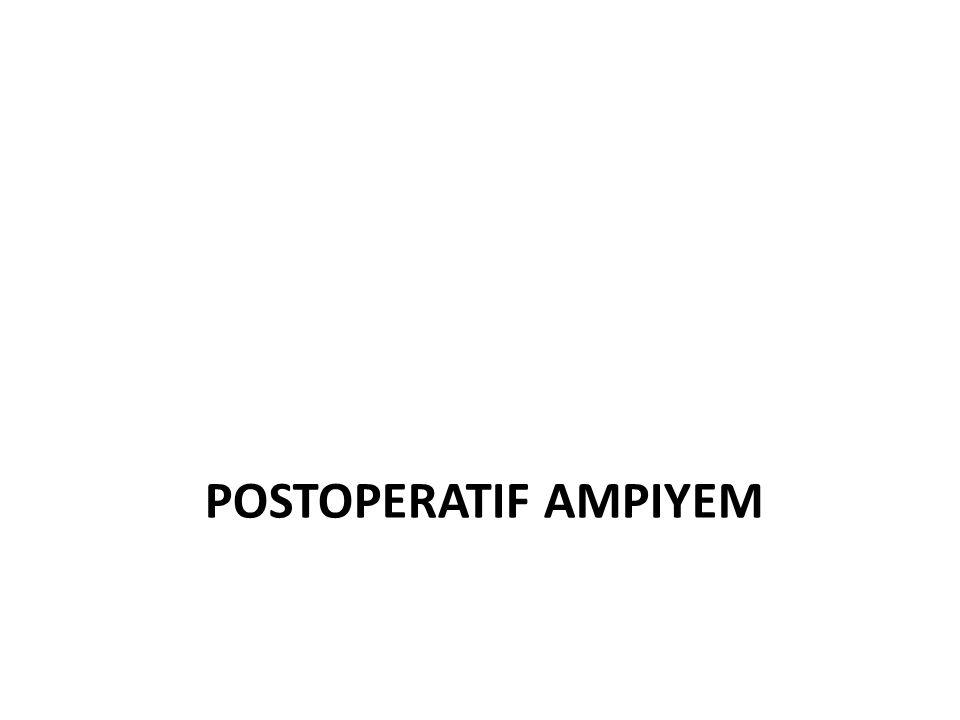 Postoperatif ampiyem