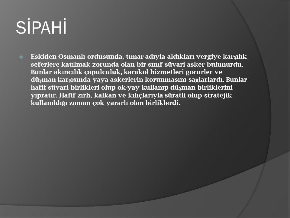 SİPAHİ