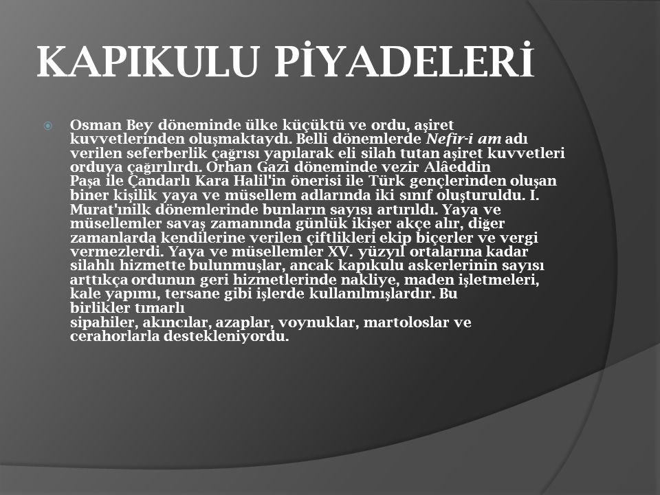 KAPIKULU PİYADELERİ