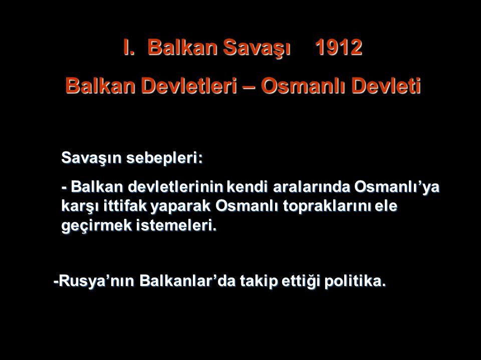 Balkan Devletleri – Osmanlı Devleti