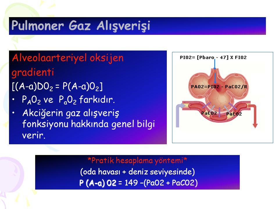 Pulmoner Gaz Alışverişi