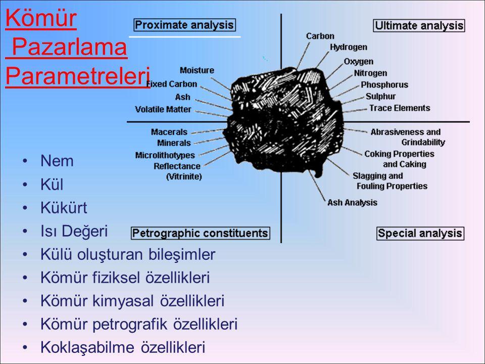 Kömür Pazarlama Parametreleri