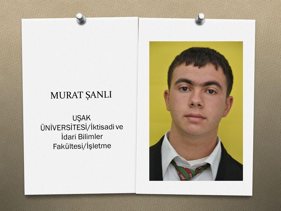 UŞAK ÜNİVERSİTESİ/İktisadi ve İdari Bilimler Fakültesi/İşletme