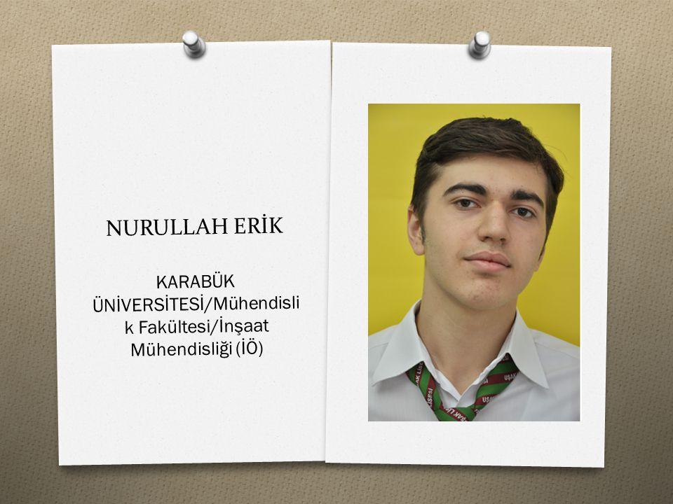 KARABÜK ÜNİVERSİTESİ/Mühendislik Fakültesi/İnşaat Mühendisliği (İÖ)