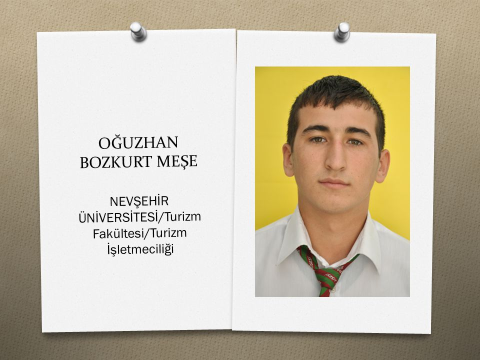NEVŞEHİR ÜNİVERSİTESİ/Turizm Fakültesi/Turizm İşletmeciliği