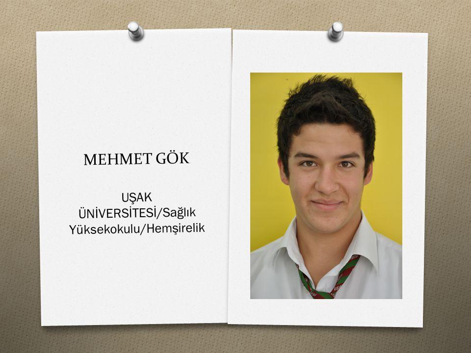 UŞAK ÜNİVERSİTESİ/Sağlık Yüksekokulu/Hemşirelik