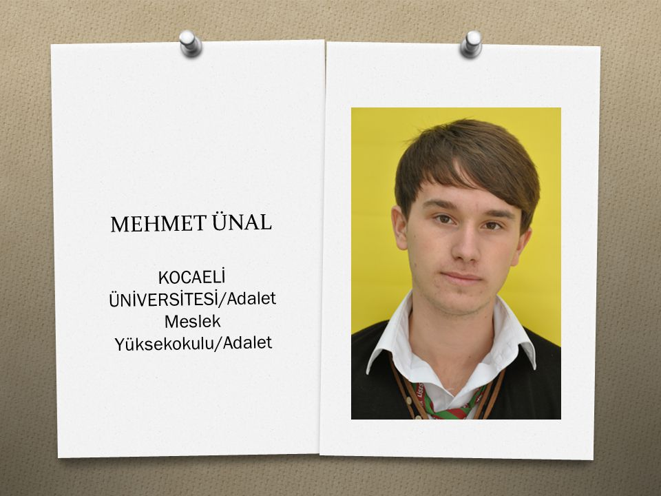 KOCAELİ ÜNİVERSİTESİ/Adalet Meslek Yüksekokulu/Adalet
