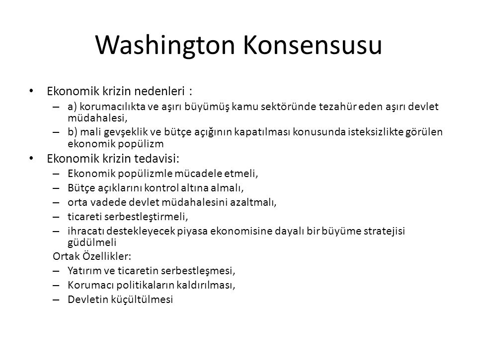Washington Konsensusu