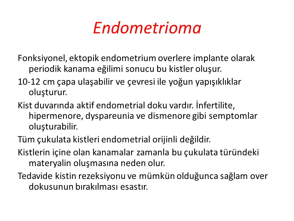 Endometrioma