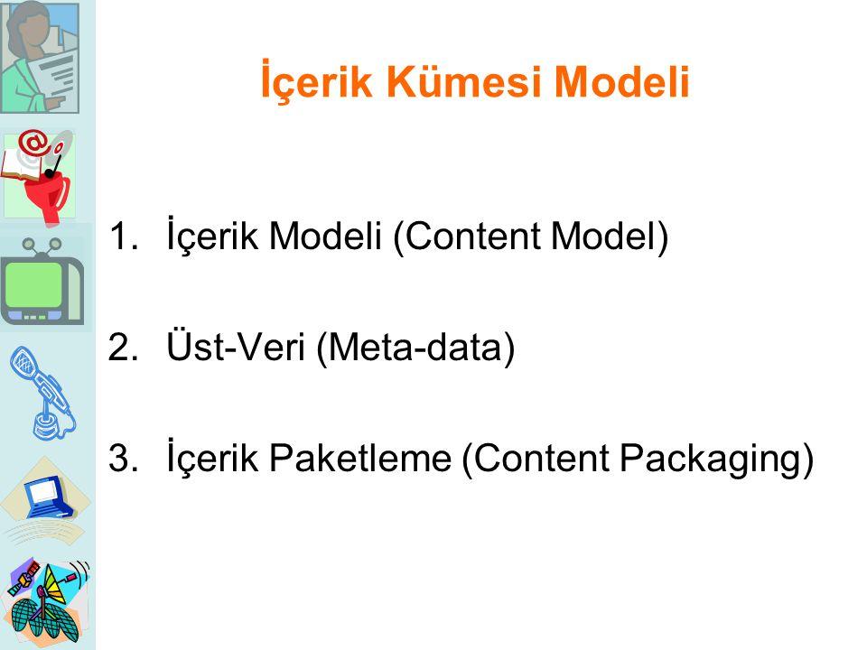 İçerik Kümesi Modeli İçerik Modeli (Content Model)