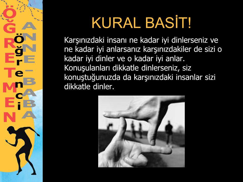 KURAL BASİT!