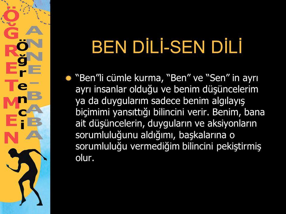 BEN DİLİ-SEN DİLİ