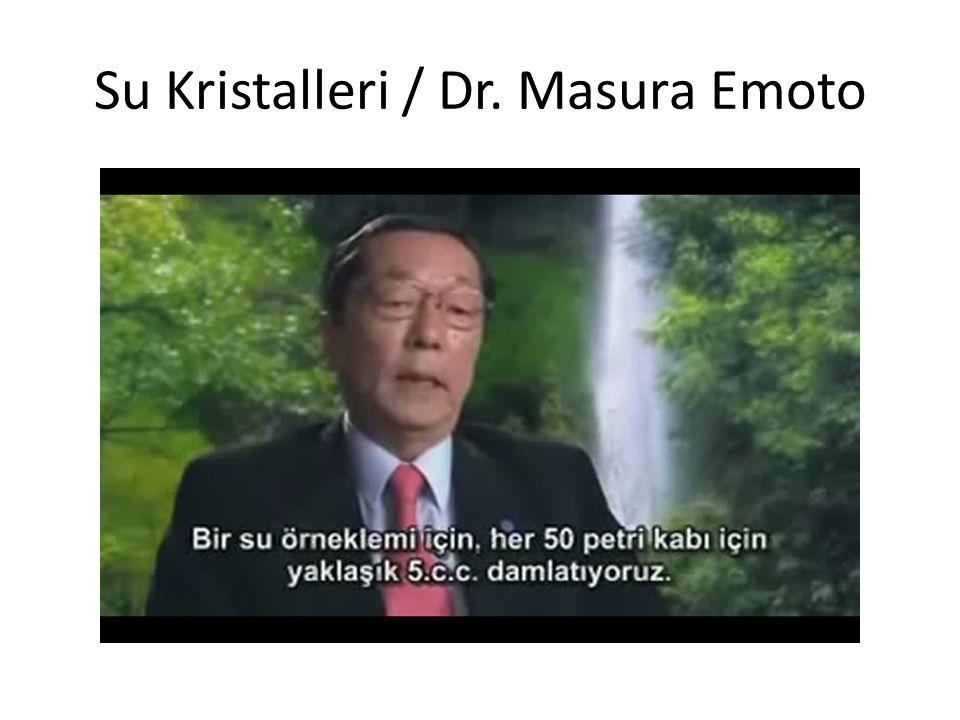 Su Kristalleri / Dr. Masura Emoto