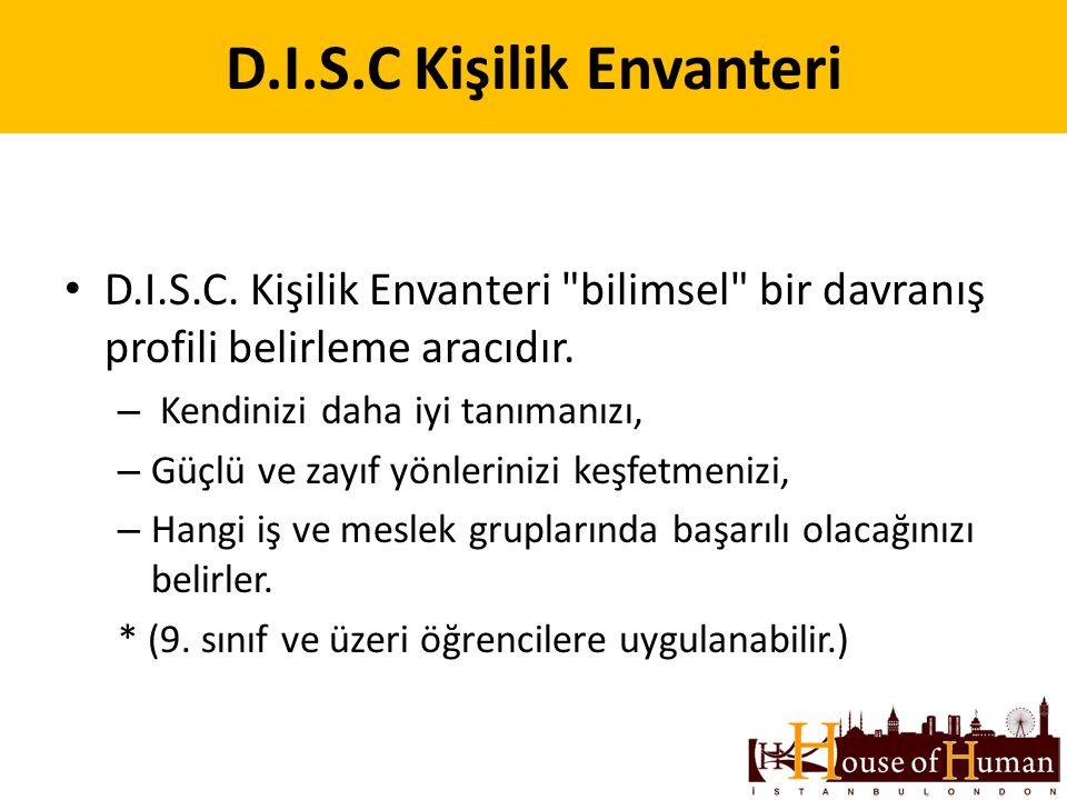 D.I.S.C Kişilik Envanteri