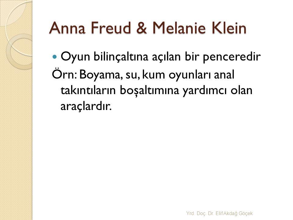 Anna Freud & Melanie Klein