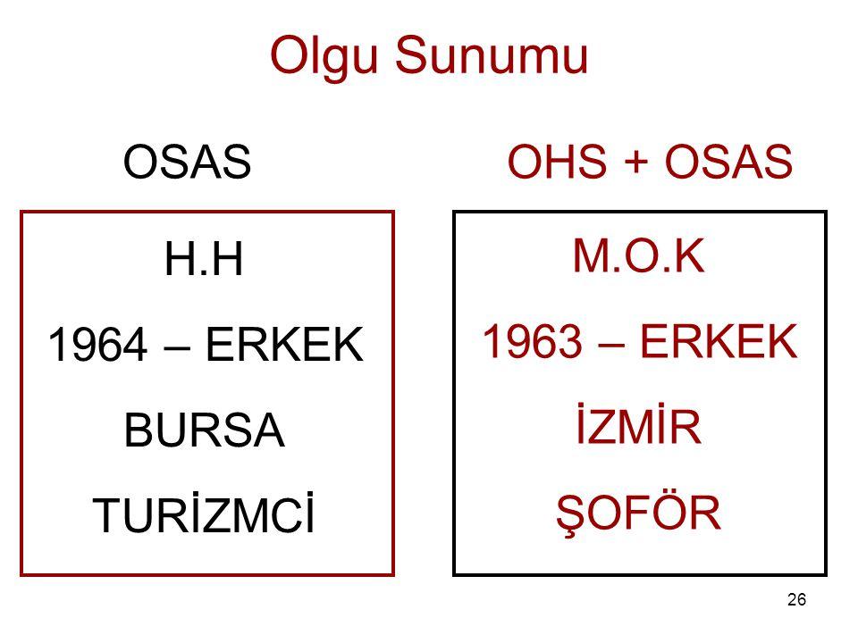 H.H 1964 – ERKEK BURSA TURİZMCİ