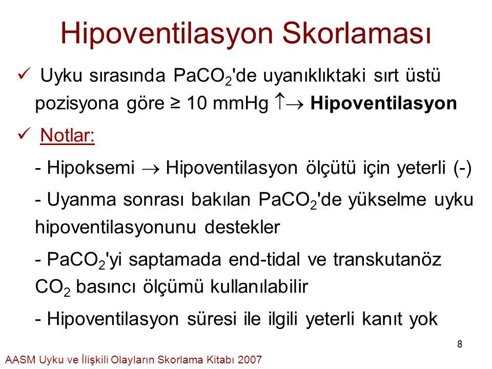 Hipoventilasyon Skorlaması