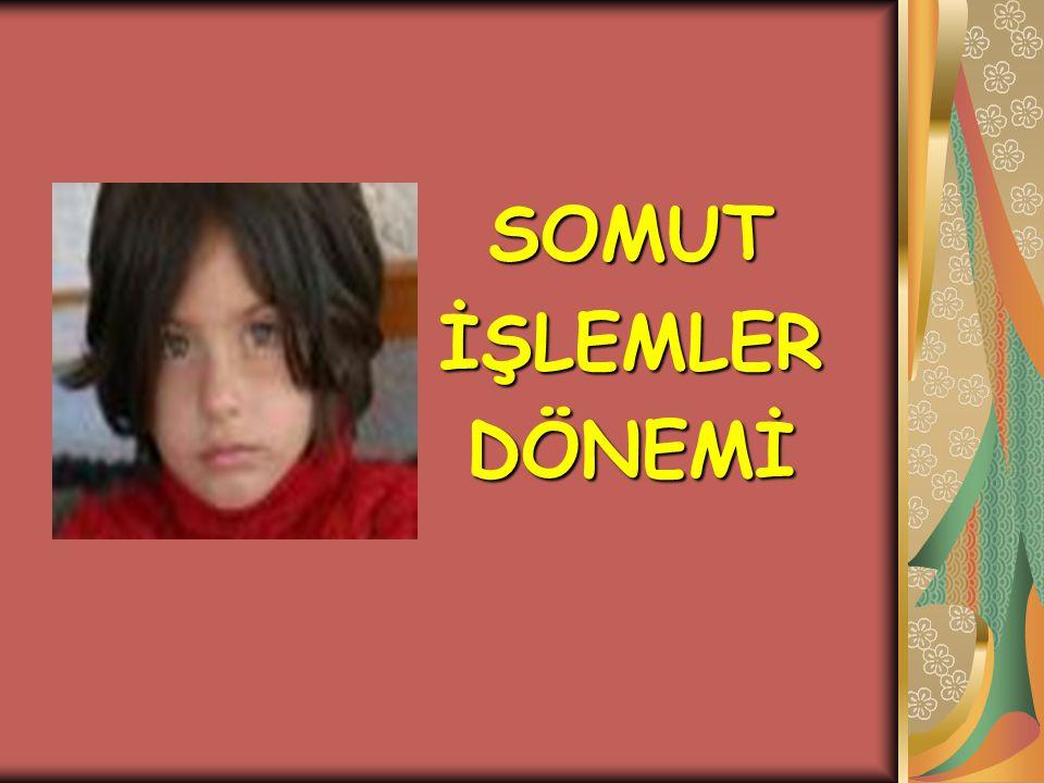 SOMUT İŞLEMLER DÖNEMİ