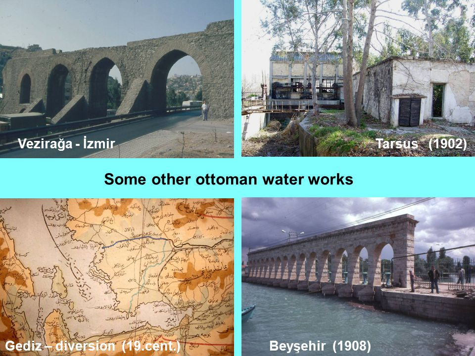 Some other ottoman water works