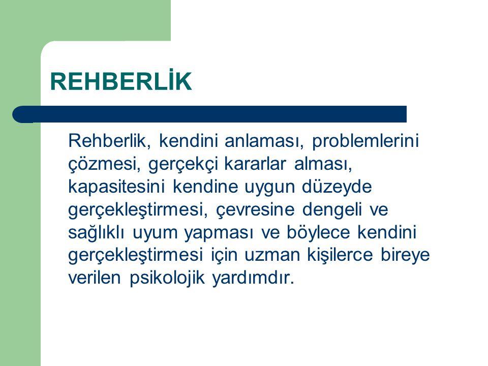 REHBERLİK