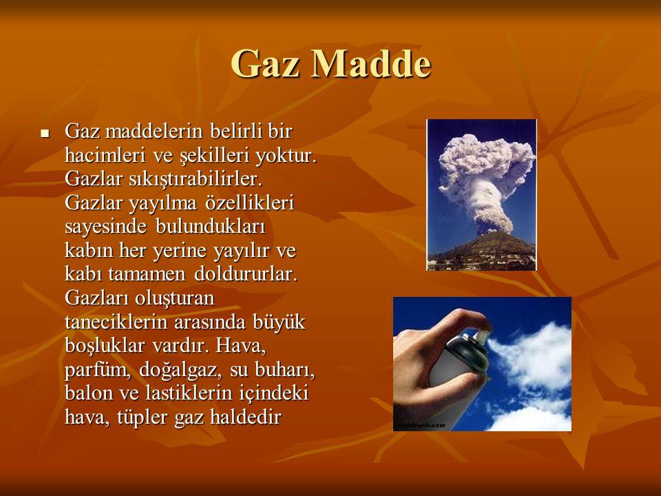 Gaz Madde