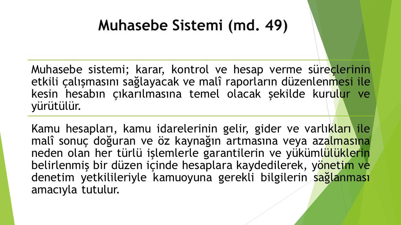 Muhasebe Sistemi (md. 49)