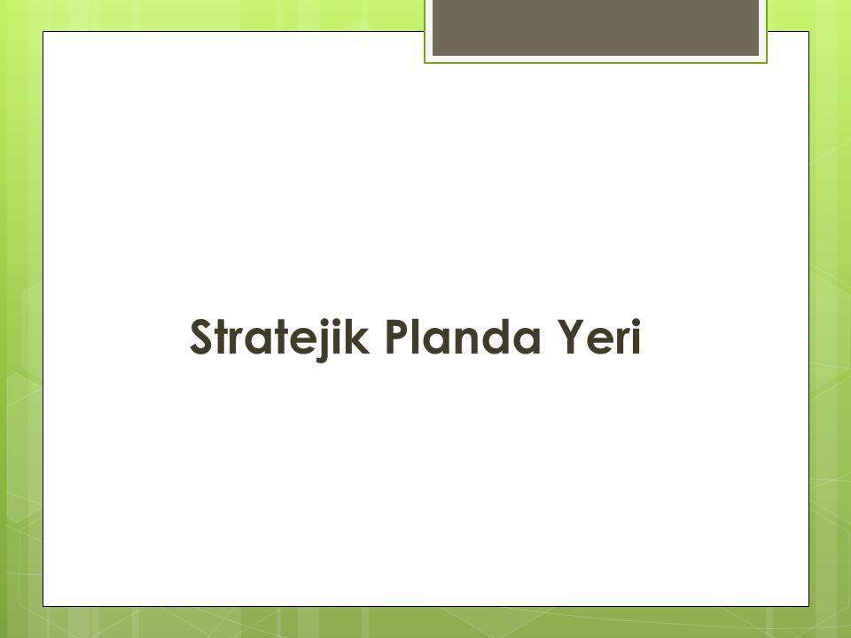 Stratejik Planda Yeri