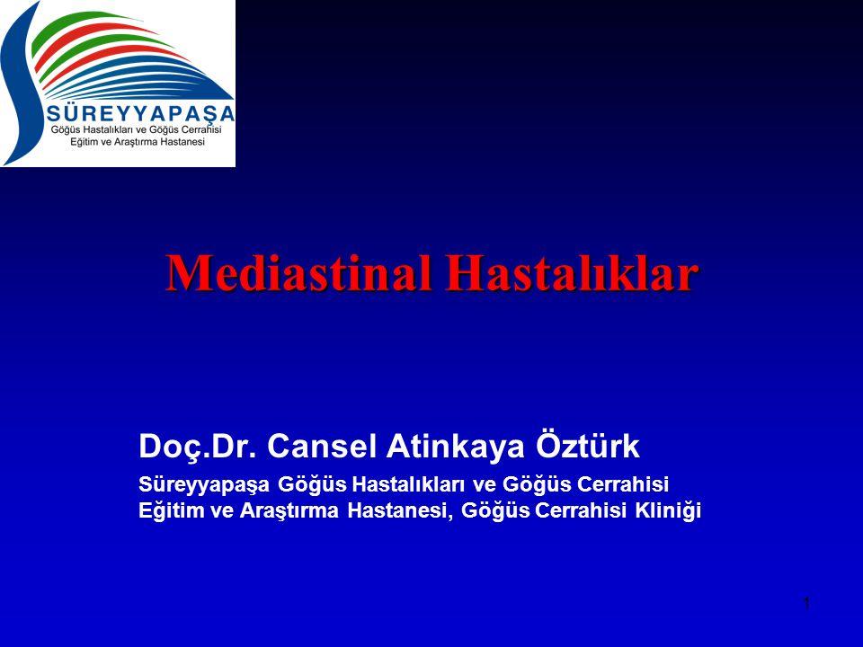 Mediastinal Hastalıklar