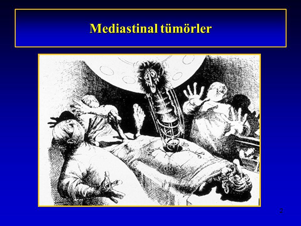 Mediastinal tümörler