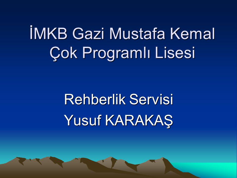 İMKB Gazi Mustafa Kemal Çok Programlı Lisesi