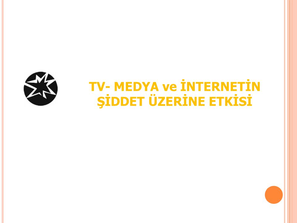 TV- MEDYA ve İNTERNETİN