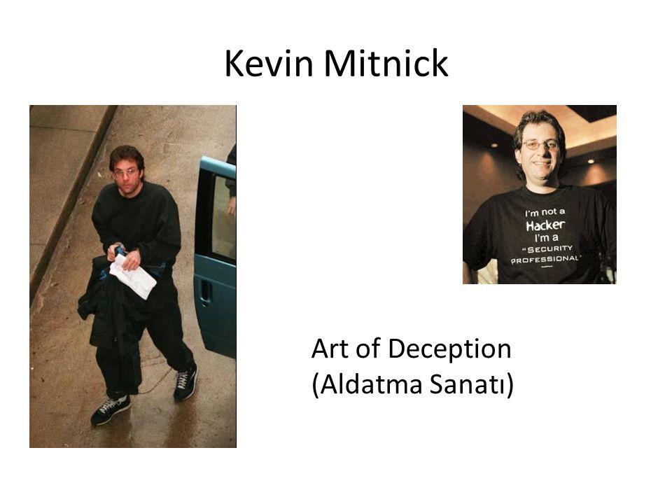 Kevin Mitnick Art of Deception (Aldatma Sanatı)