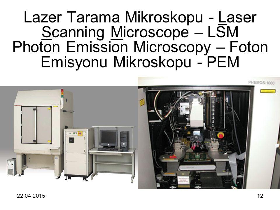 Lazer Tarama Mikroskopu - Laser Scanning Microscope – LSM Photon Emission Microscopy – Foton Emisyonu Mikroskopu - PEM