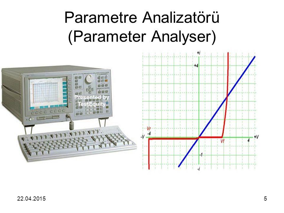 Parametre Analizatörü (Parameter Analyser)