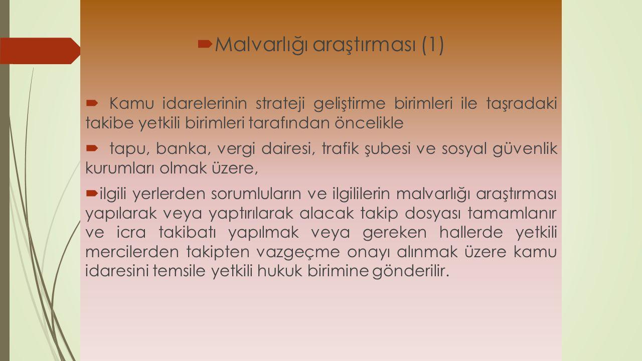 Malvarlığı araştırması (1)