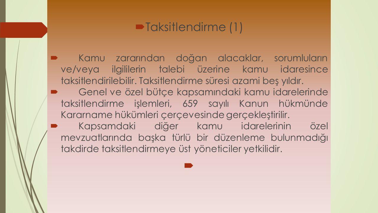 Taksitlendirme (1)