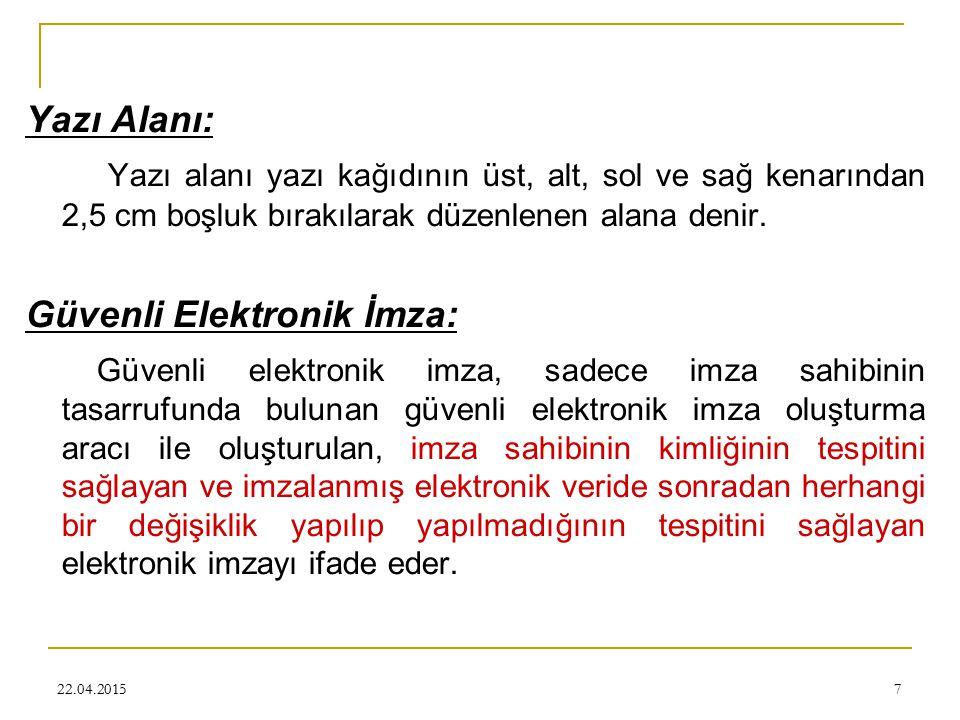 Güvenli Elektronik İmza: