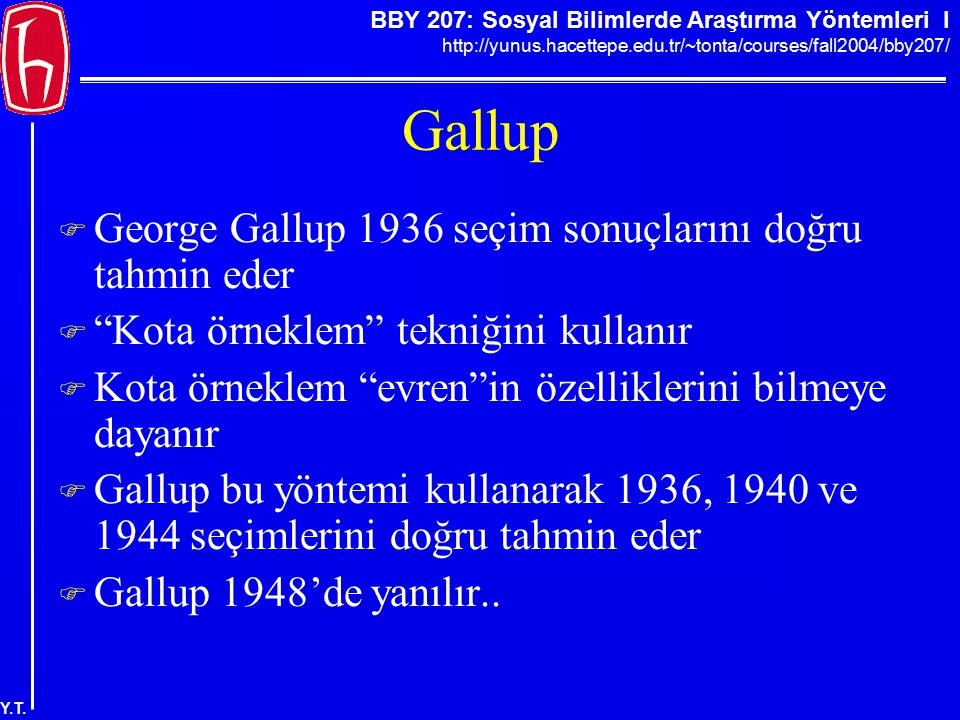 Gallup George Gallup 1936 seçim sonuçlarını doğru tahmin eder