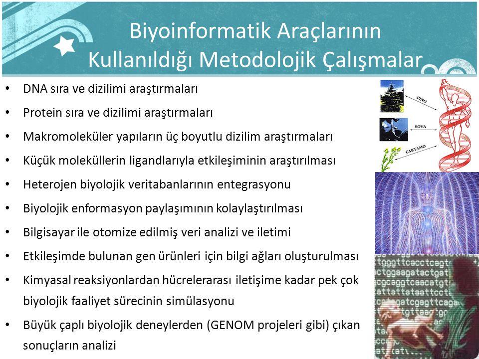 Biyoinformatik Araçlarının Kullanıldığı Metodolojik Çalışmalar