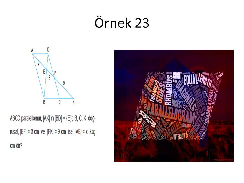 Örnek 23