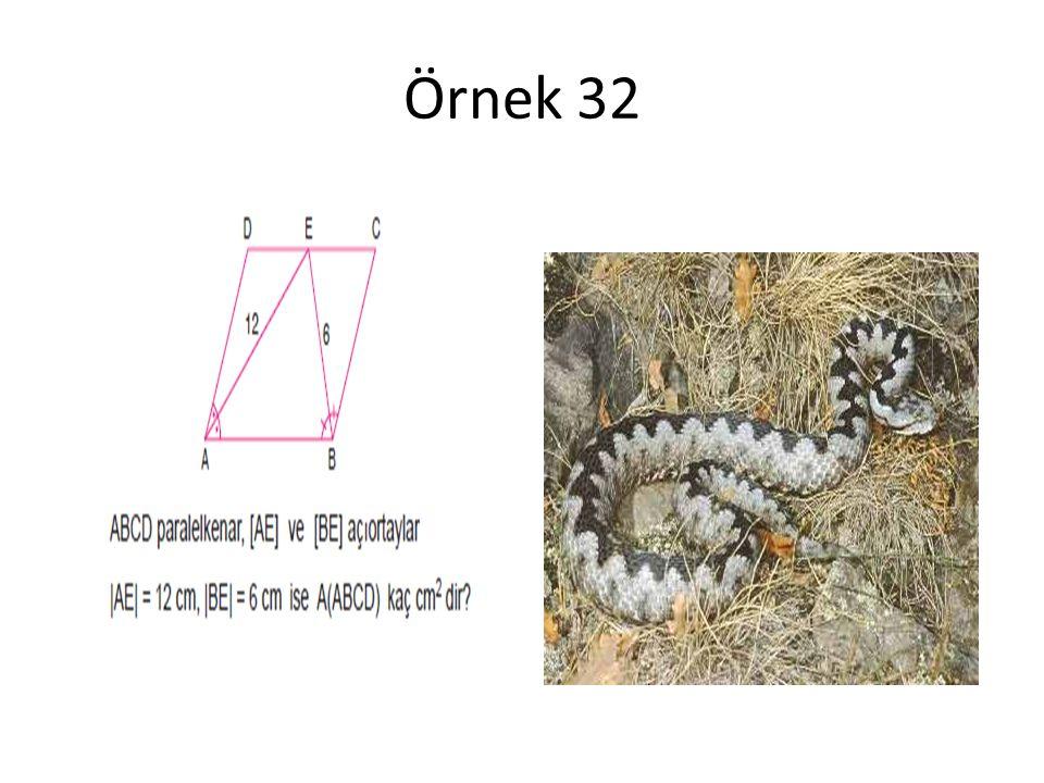 Örnek 32