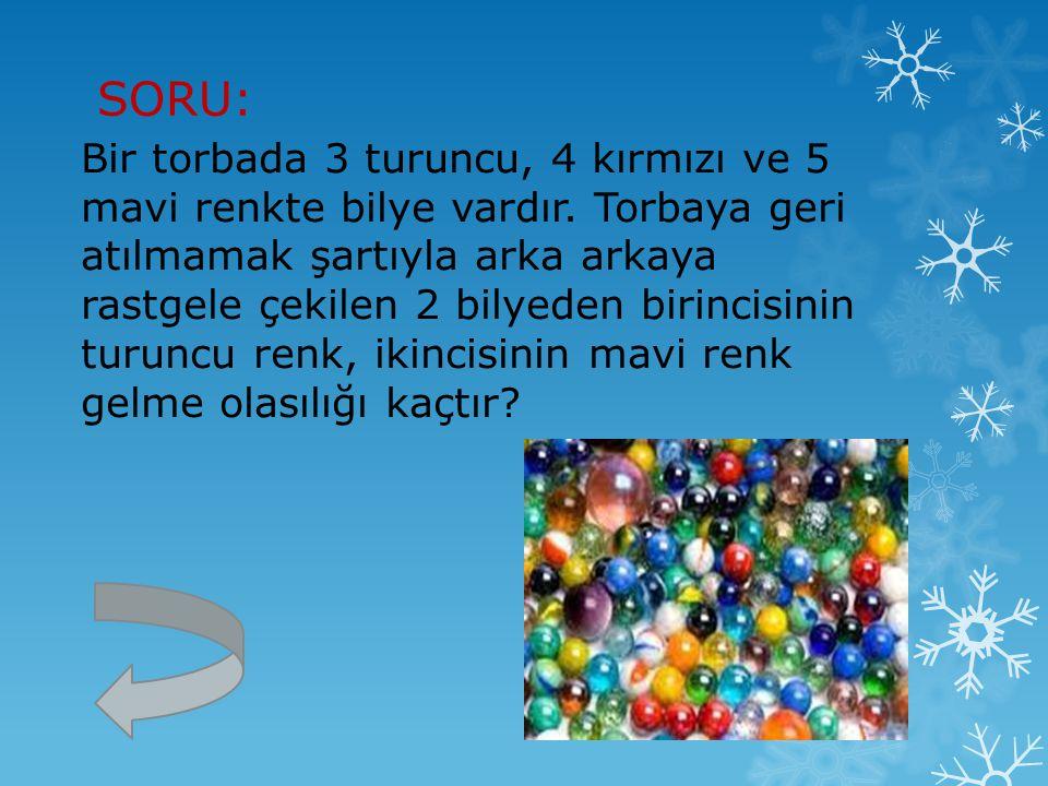 SORU: