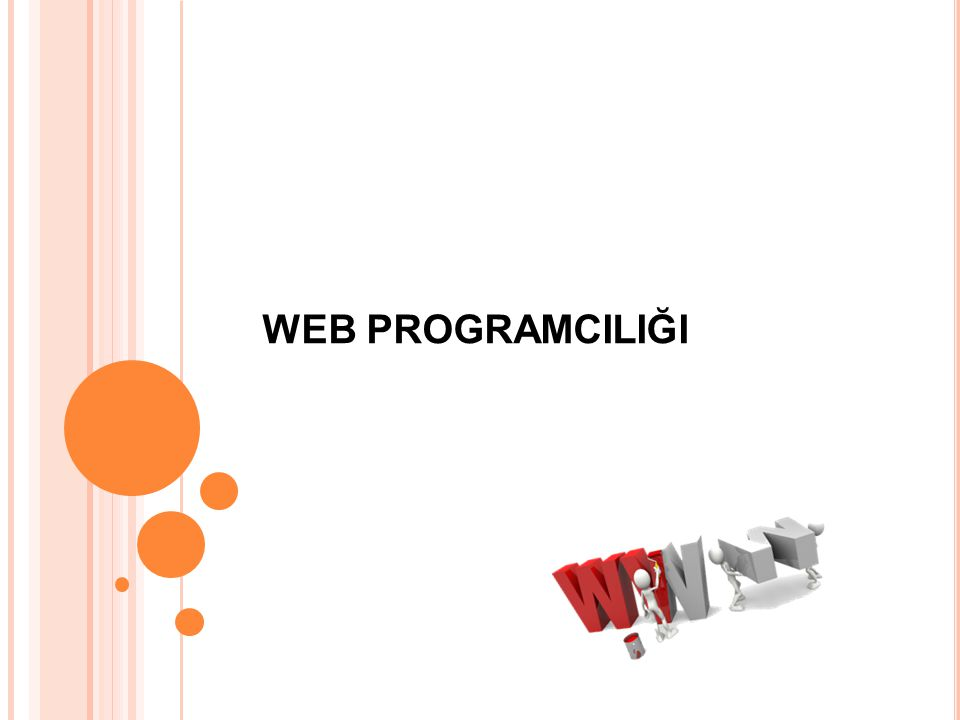 WEB PROGRAMCILIĞI