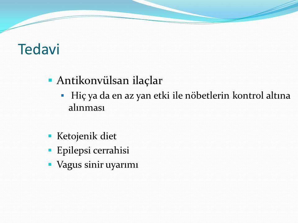 Tedavi Antikonvülsan ilaçlar