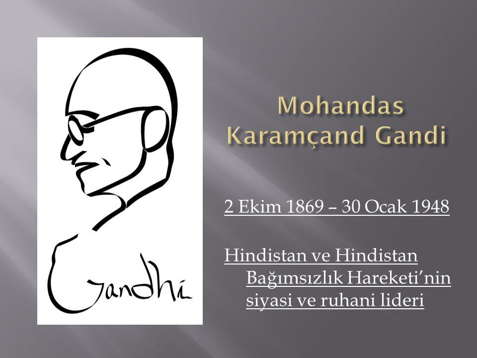 Mohandas Karamçand Gandi