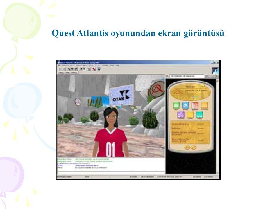 Quest Atlantis oyunundan ekran görüntüsü