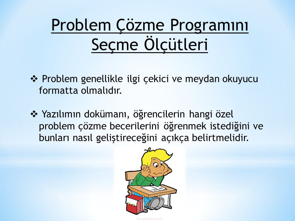 Problem Çözme Programını